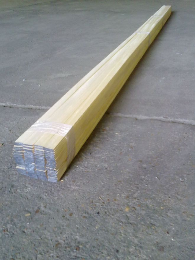Timber Laths 22mm x 5mm - 3metres x 100lengths